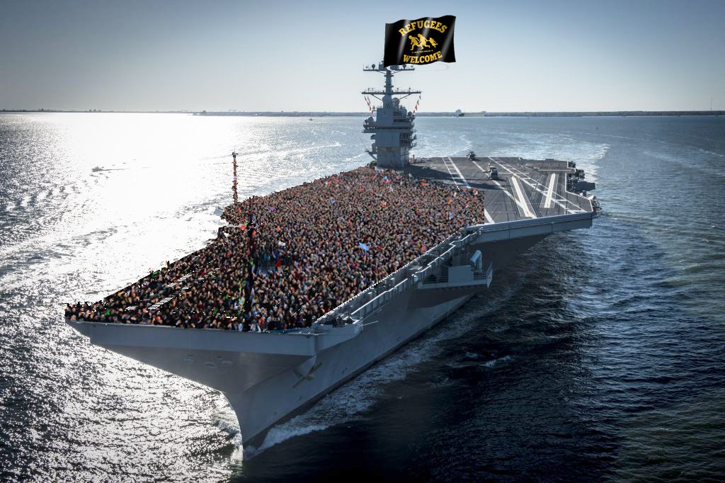 Amerikanische Flugzeugträger